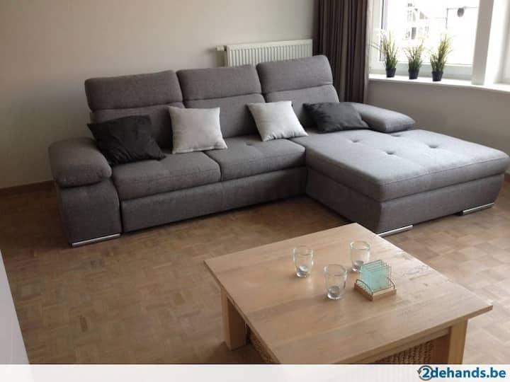 Knokke, TOP LOCATIE appartement + 2 FIETSEN, wifi