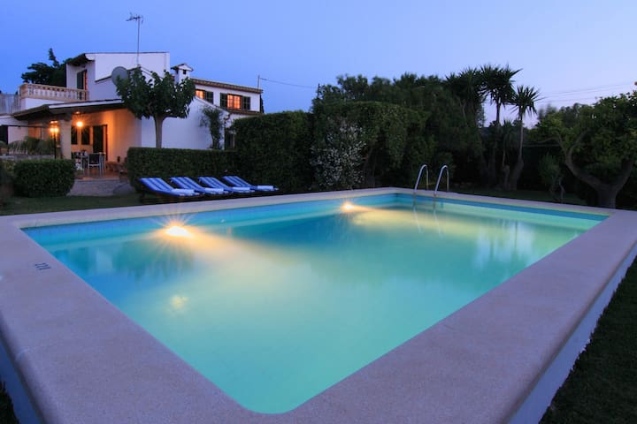 Beautiful house with private pool. - Pollença - Huis