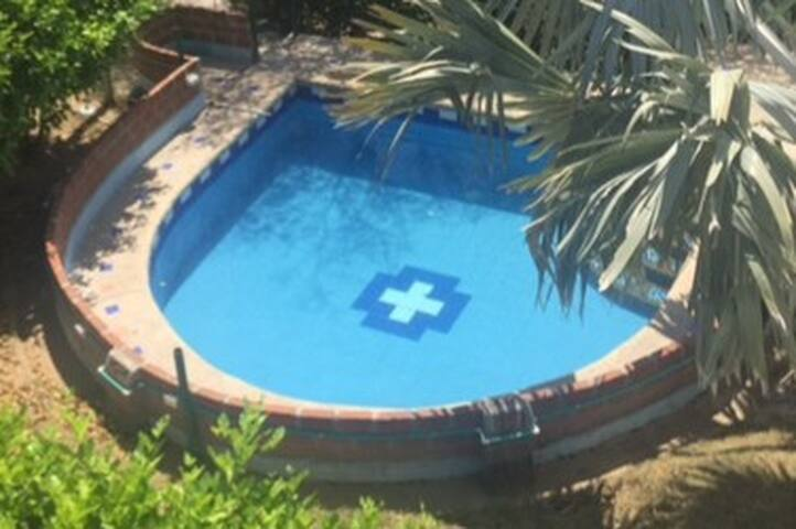 Hermosa Cabaña con piscina en Santa Verónica - Juan de Acosta