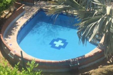Hermosa Cabaña con piscina en Santa Verónica - Juan de Acosta - Mökki