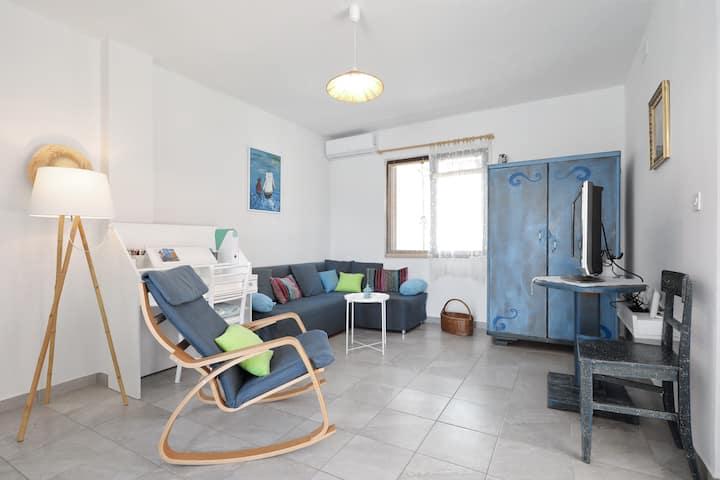 Apartment 4+2, terrace (37 m2), Nin-Queen's Beach