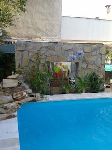 studio calme en fond de jardin - Marseille - Guesthouse