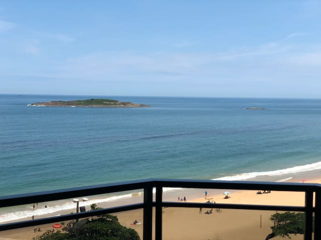 Vista linda do mar de Itaparica!!!!!