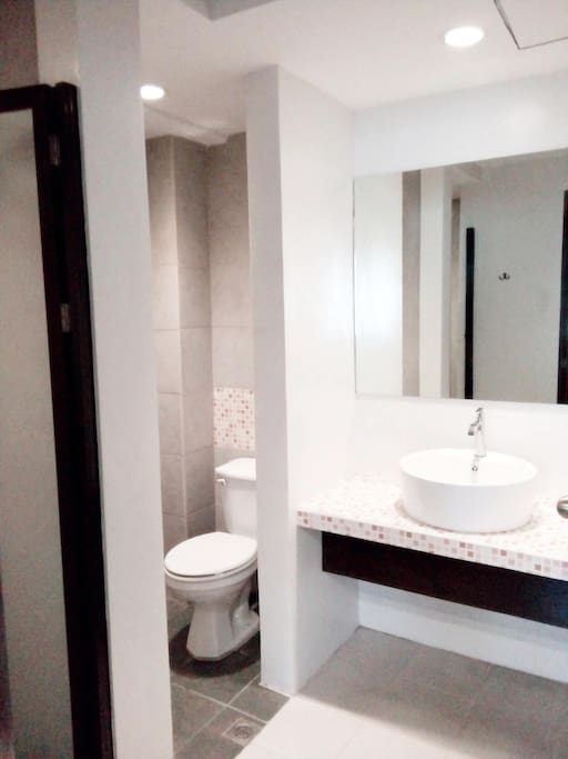 Private Bathroom in all rooms