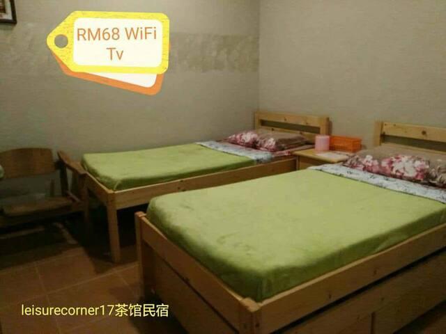 Room D - Double Room /w Twin Bed 2张单人床房