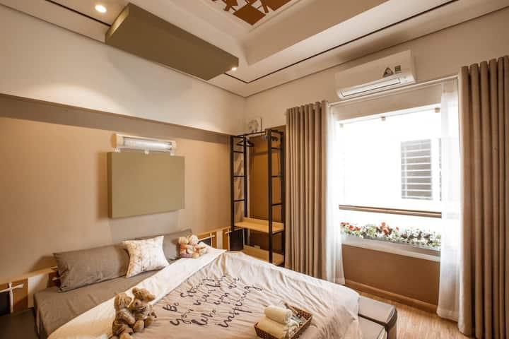 Teddy House/Studio/Luxstay/DaoTan/BaDinh/Hanoi