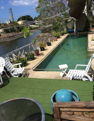 #1 Self Contained Room with Pool Onsite