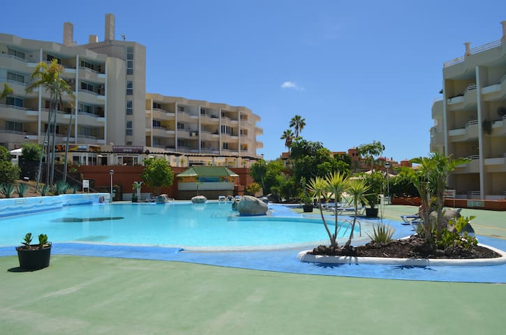 Private studio apt with swimming pool - Santa Cruz de Tenerife - Apartment