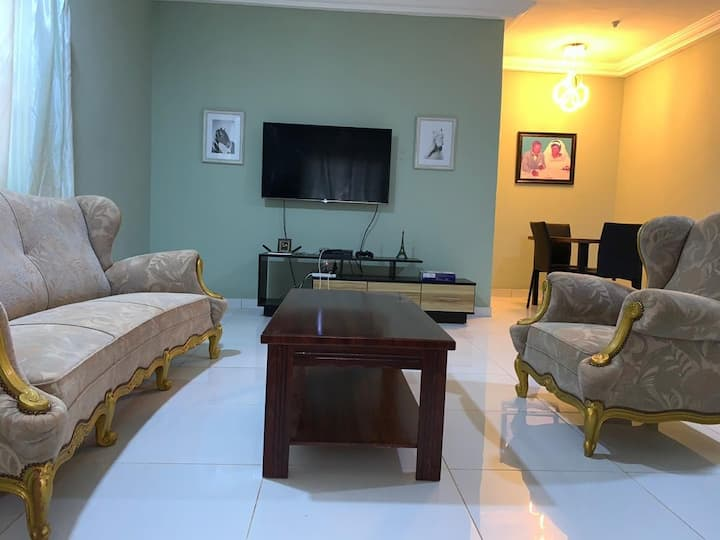 2 bedroom house fully furnished for rent at tema