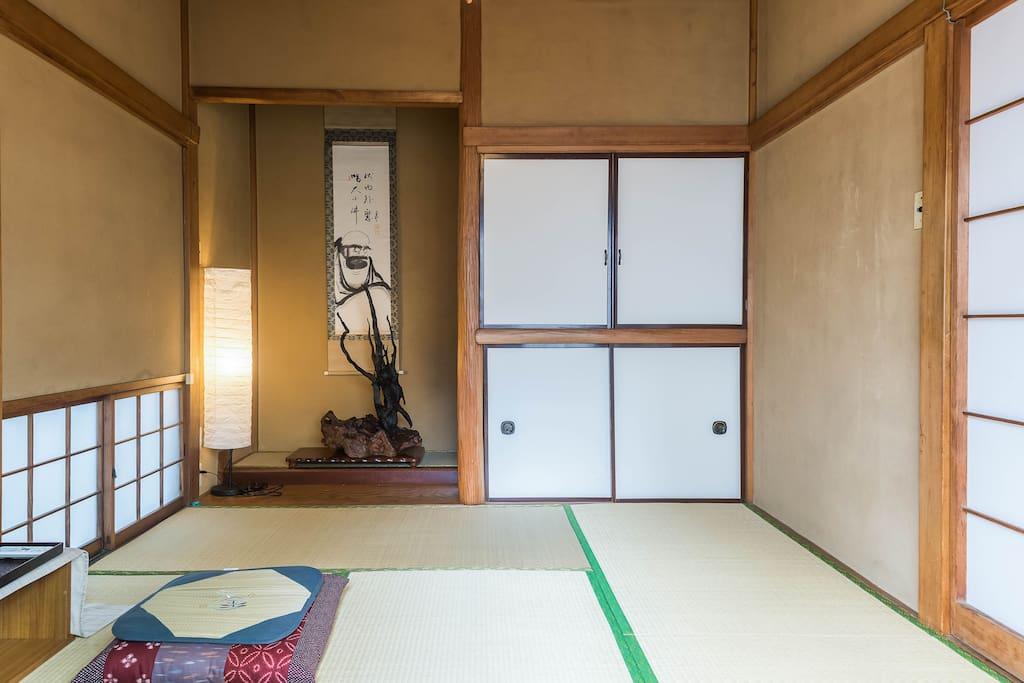 Tatami Room Japanese Traditional Style