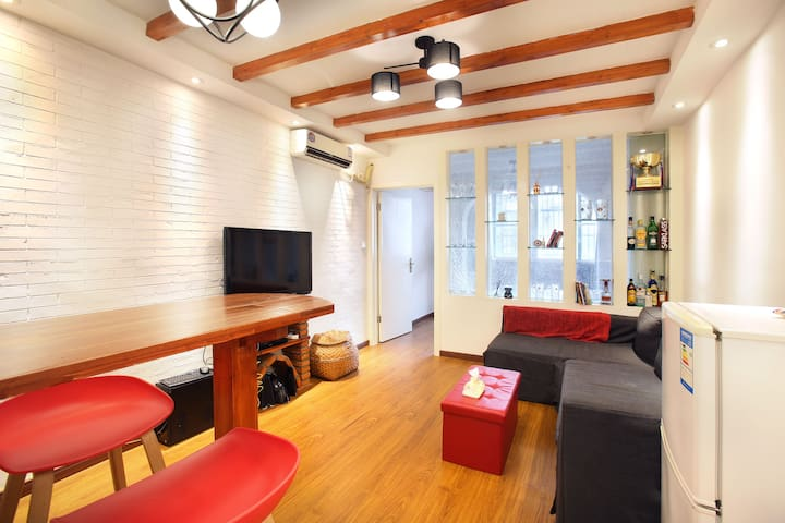 Spacious apt in best spot in French Concession