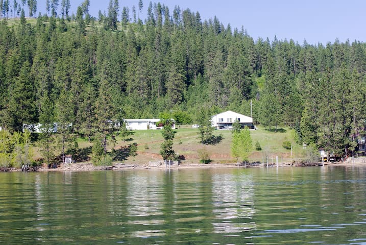 Grandma's Cabin on Lake CDA - Harrison - Haus