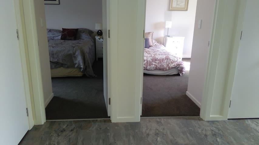 Rooms set as 2 bedrooms.