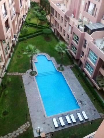 Appartement de Luxe  face jardin majorelle