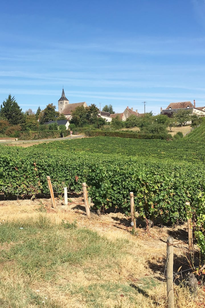 One of the wine growing villages