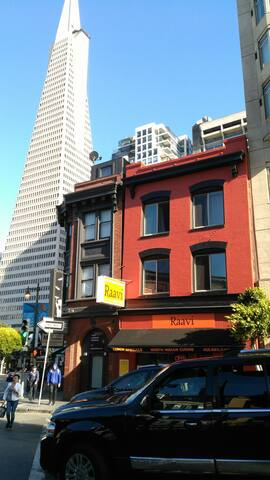 Moscone.Financial Dist. Columbus Ave 4 Chinatown.