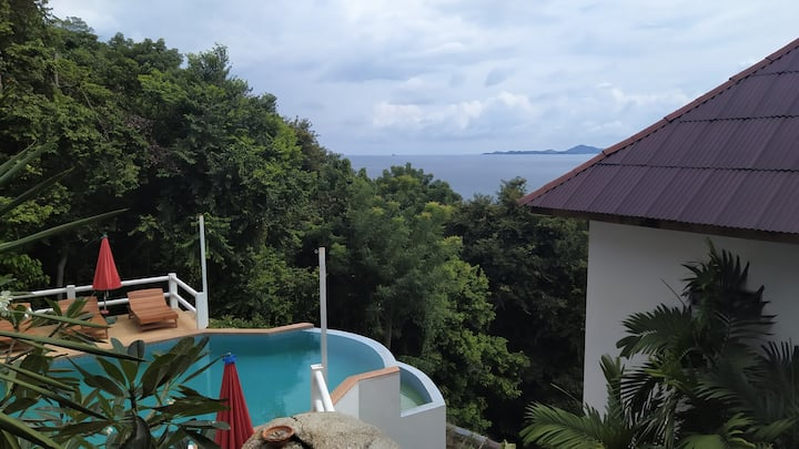 Hill Top seaview studio 2 koh phangan- HOT PRICE!!