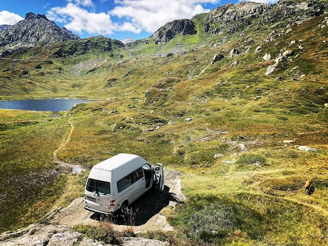 Explore the beauty of Switzerland in a Campervan