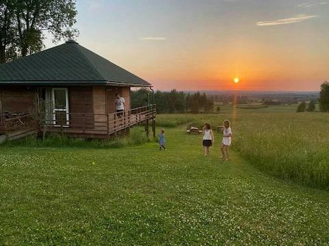Brīvdienu māja Elkas kalnā