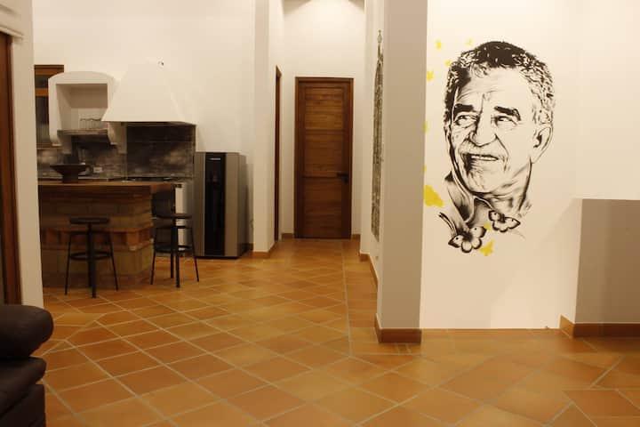 Casa Macondo SachicaVilla de Leyva lujosa y cómoda