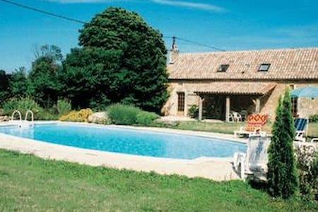 Villa with private pool peaceful surroundings - Savignac-les-Églises - Haus