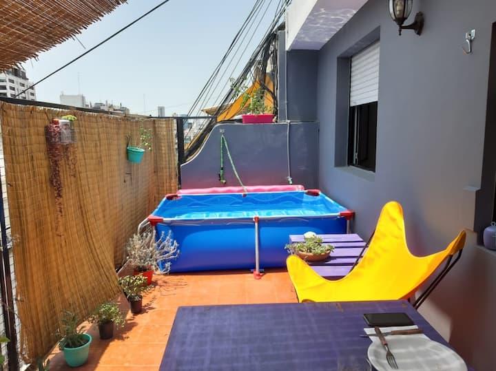 La mejor terraza de Recoleta!!