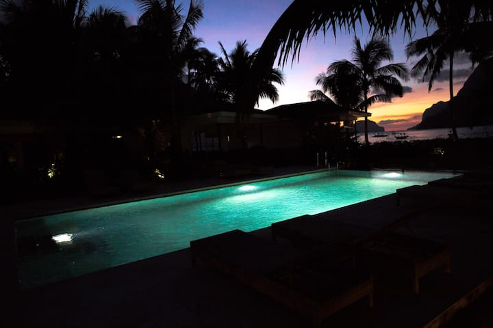 Cadlao Resort & Restaurant Pool side room - El Nido - Bungalow