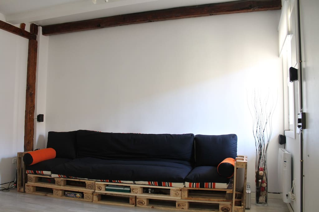 Living Room / Sofa Bed