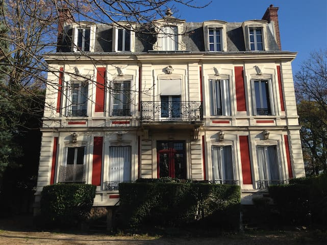 19th Century Bourgeois Duplex Apartment - Joinville-le-Pont - Appartement