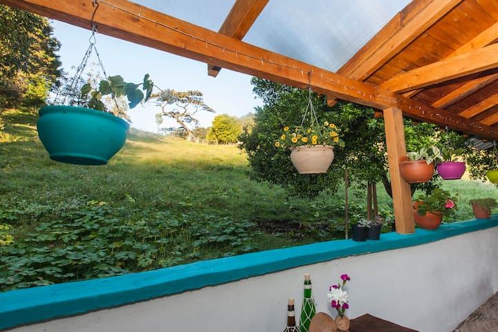 Habitación (Jade) grande hermosa vista!
