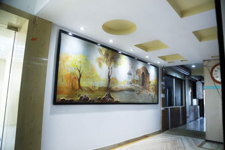 Private Deluxe Room @Hotel Vishnu Villas, Bhopal