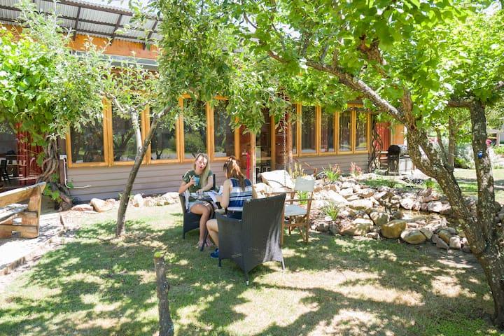 Grampians Eco YHA Outdoor Area