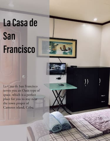 La Casa de San Fran the Oasis of Camotes Room1