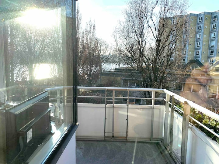 City Lake View - balcony - new renovated apartment