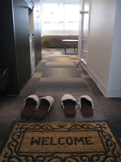 Welcome! ようこそ!