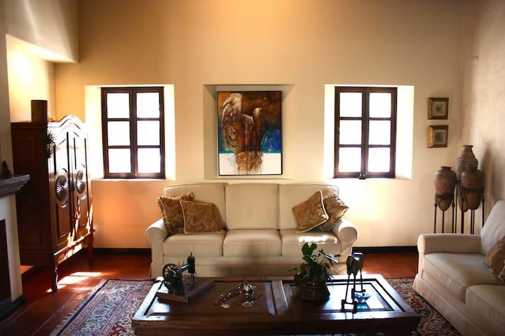 Luxury Villa with volcanic views