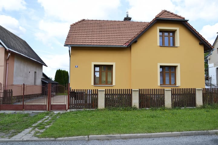 A self-contained flat Železnice in Czech Paradise