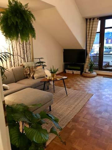 Luxus Maisonette Apartement in Schwabing