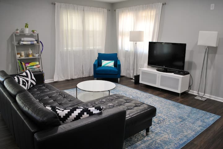 Modern 3-bedroom home in exciting SoBro!