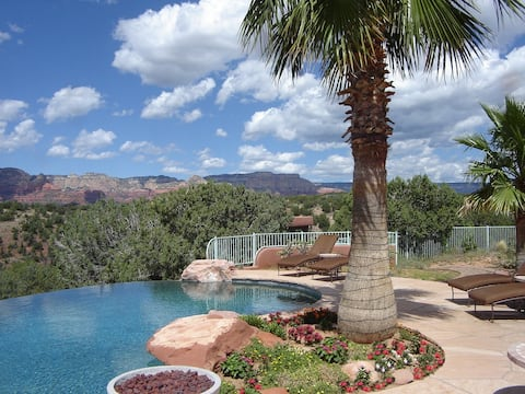 SEDONA'S BEST CASITA - BEST VIEWS, SUNSETS, POOL