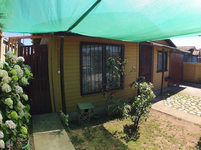 Cabaña en Quintero para 4 Personas (interior)