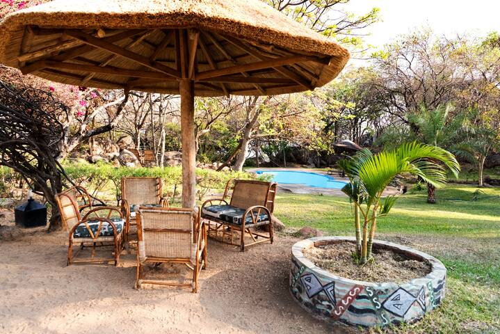 Safari Beach Lodge - Double Chalets
