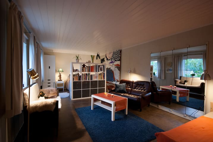 Sunny apartment in seaside village, south of Oslo - Asker