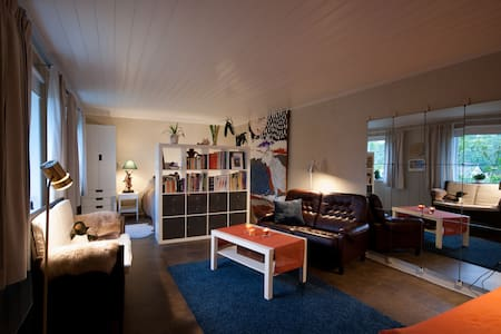 Sunny flat in seaside village just south of Oslo - Asker - Apartament