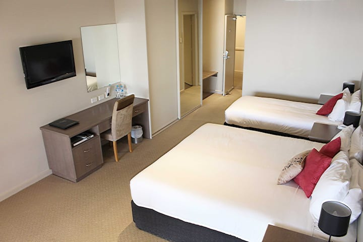 Executive Room at Ozone Hotel located on the Kingscote waterfront