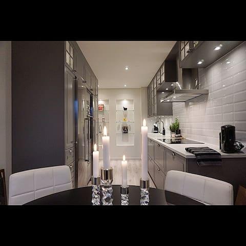 Modern lägenhet nära älven och centrala Umeå - Umeå - Leilighet