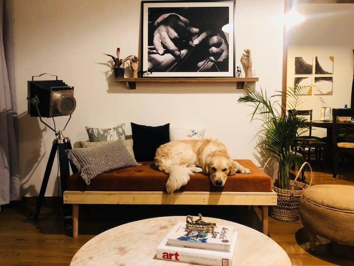 Artist abode.