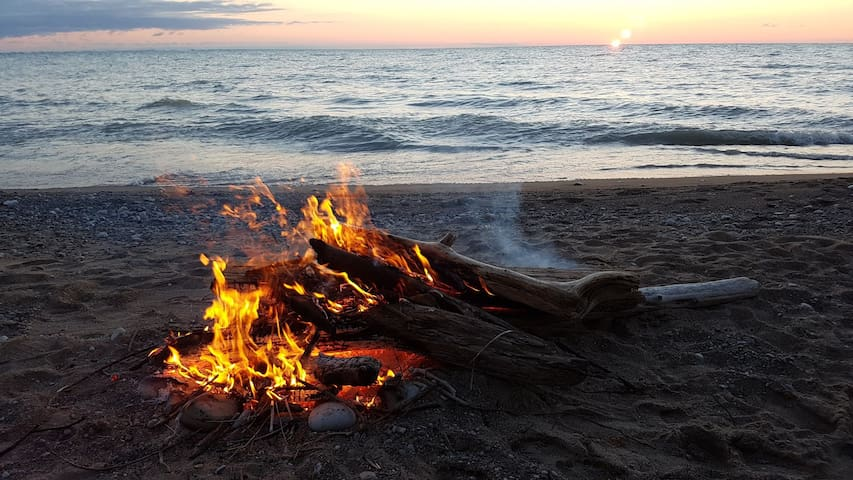 Campfires on beach allowed