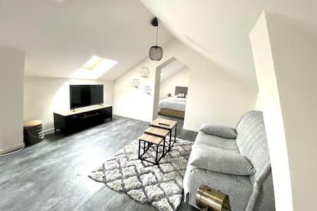 Appartement en duplex avec piscine proche Honfleur
