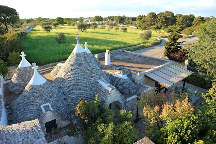 Trulli Sacramento with e-bike tour